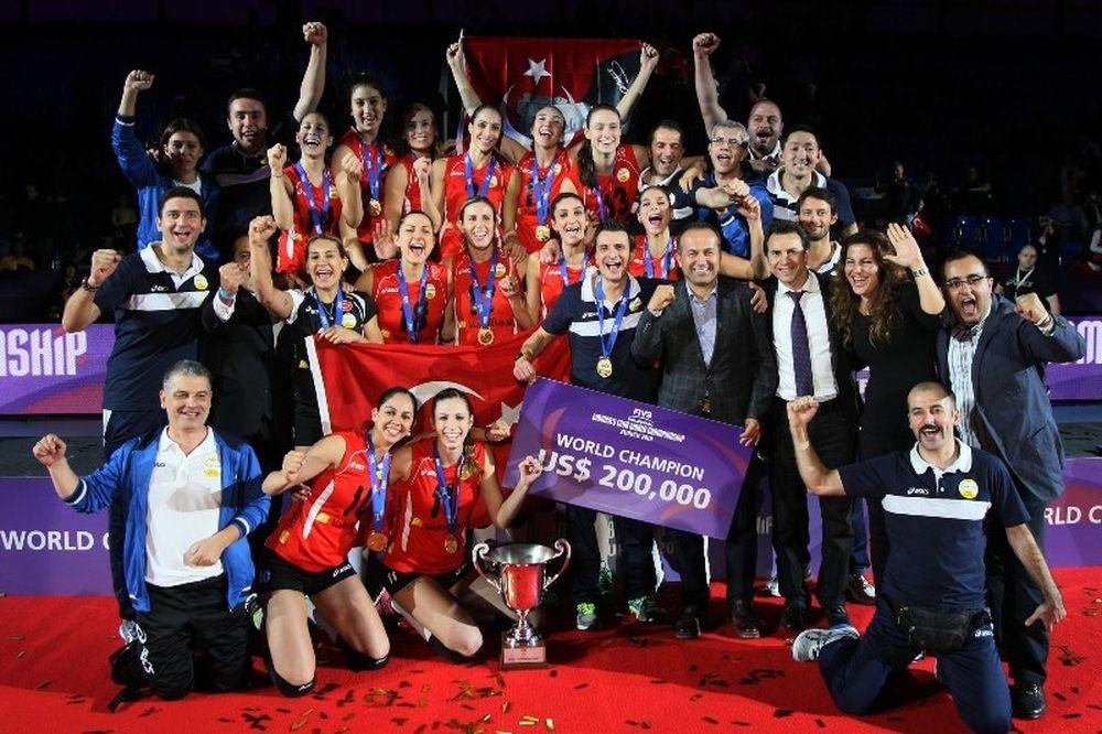 Από Τουρκία η πρωταθλήτρια κόσμου