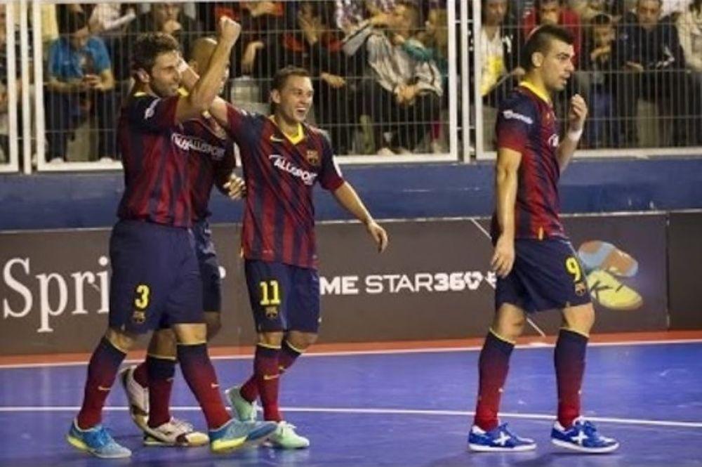 Μπαρτσελόνα: «Μαγεύει» και στο ποδόσφαιρο σάλας! (video)