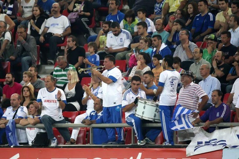 Ελλάδα – Λιχτενστάιν: «Κλικ» στις εξέδρες (photos)