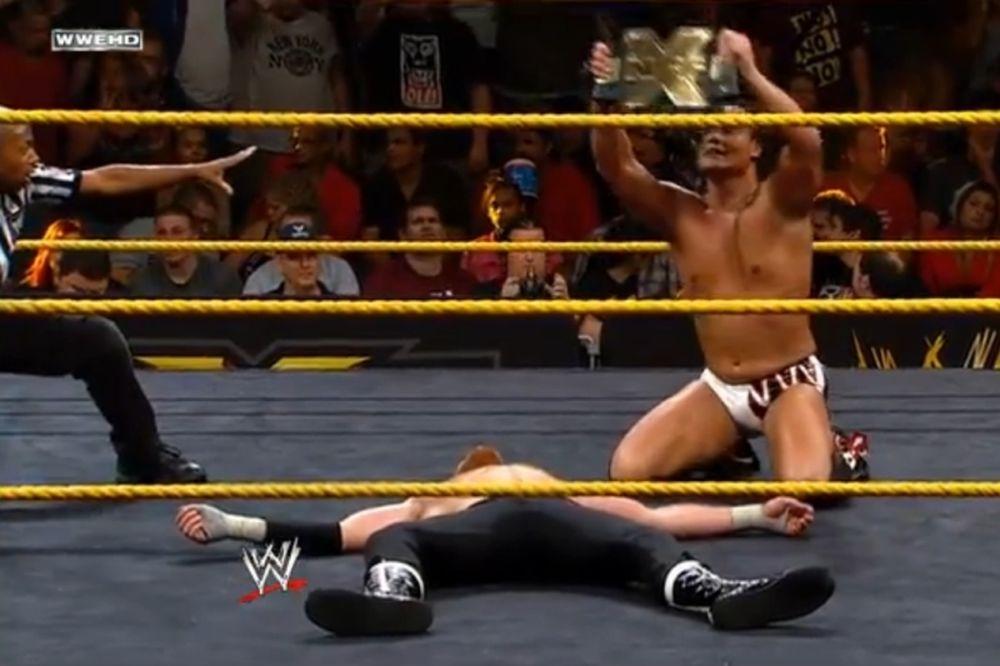NXT: Κράτησε ζώνη ο Dallas με… JBL (video)