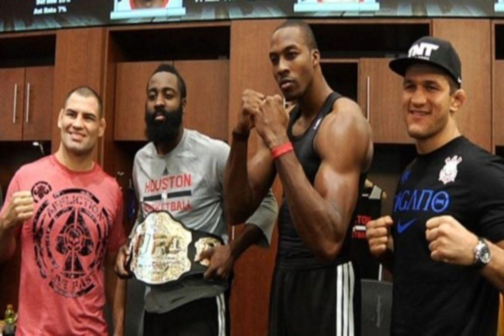 Χιούστον Ρόκετς: UFC 166 με… Χάουαρντ και Χάρντεν (video)