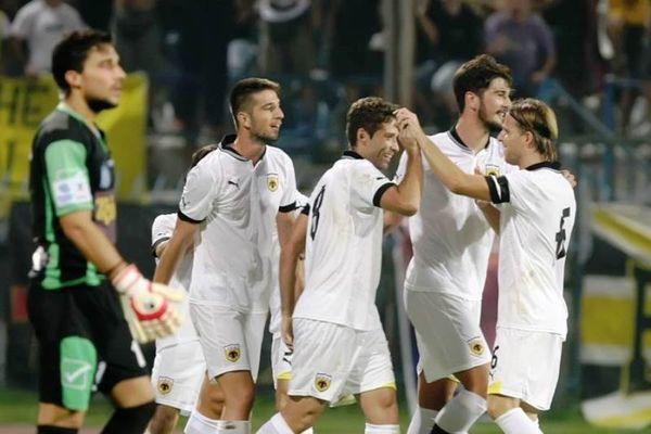 Πόποβιτς: «Με την ΑΕΚ στη Super League»