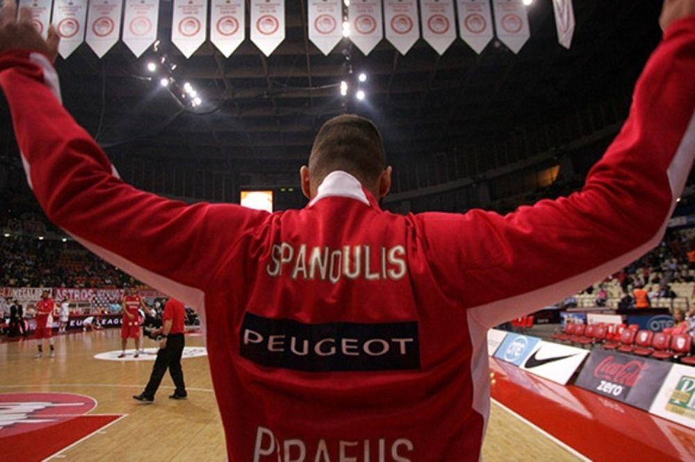 Ολυμπιακός: Μεγάλη τιμή για Σπανούλη