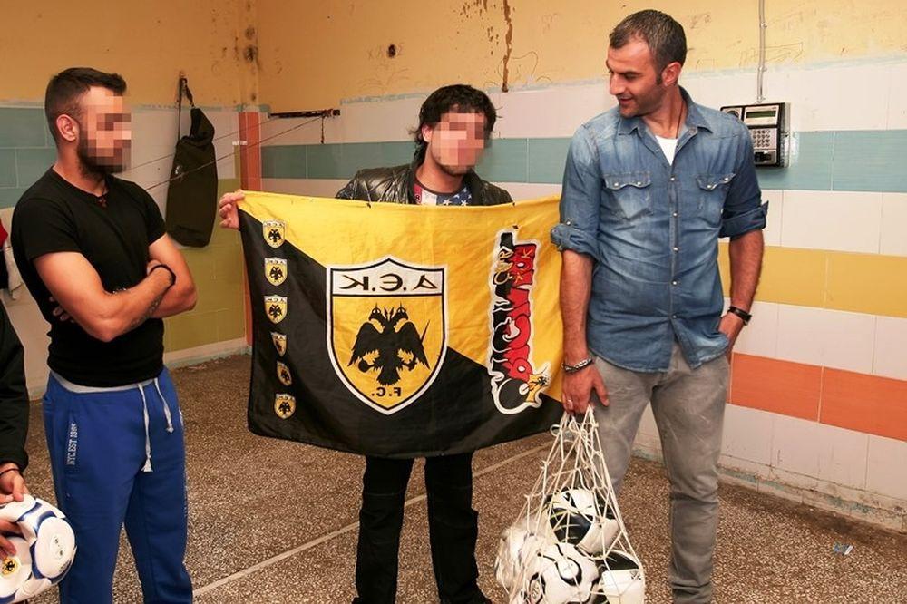 ΑΕΚ: Στις φυλακές ανηλίκων ο Δέλλας (photos)