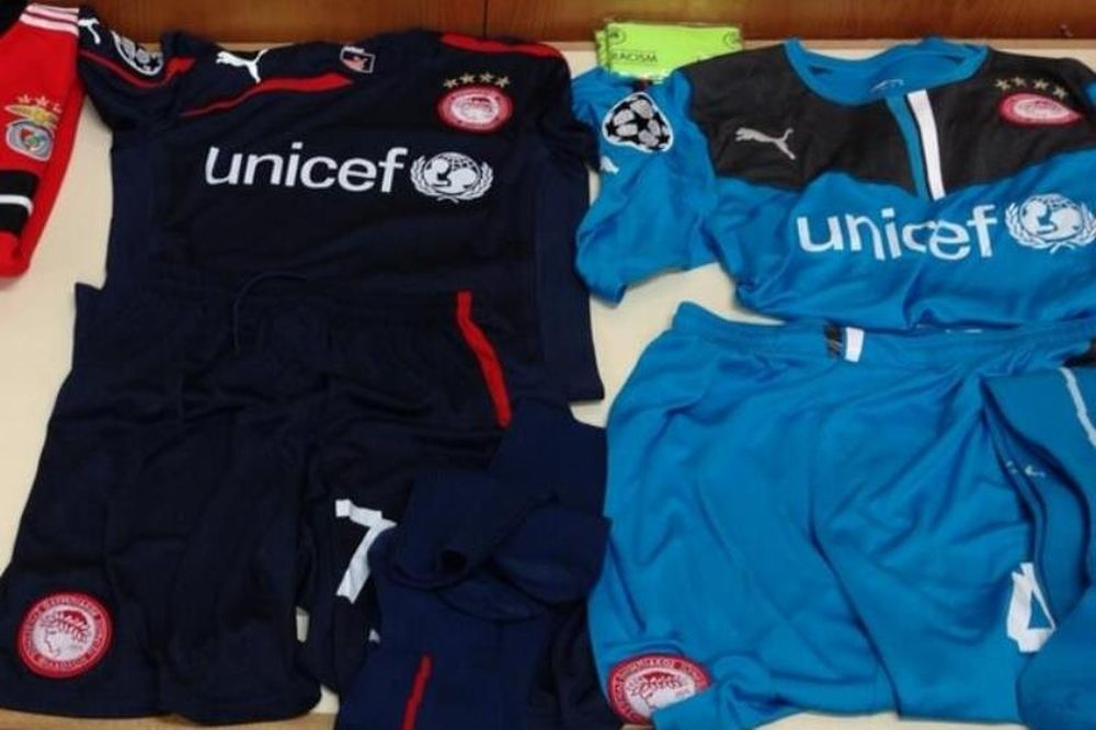 Ολυμπιακός: Καλή τύχη από UNICEF!