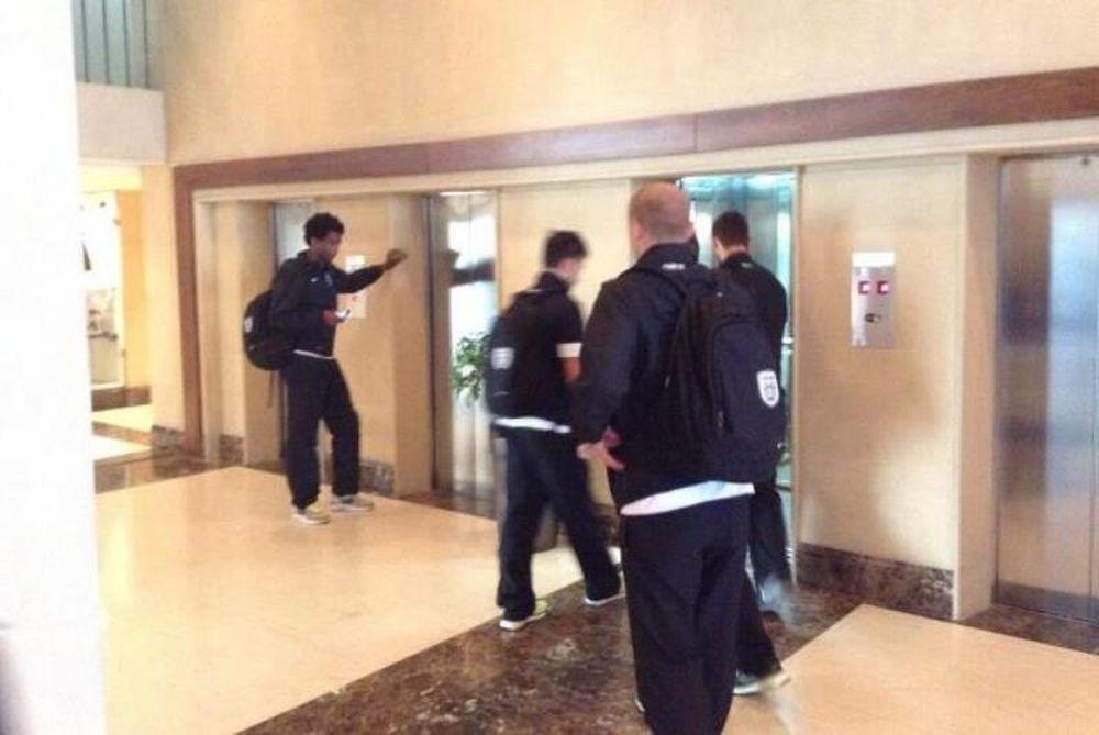 ΠΑΟΚ: Στο ξενοδοχείο οι ποδοσφαιριστές
