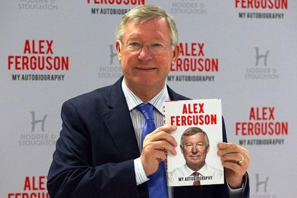 Σερ Άλεξ Φέργκιουσον: Χαμός στην παρουσίαση του βιβλίου του (photos)