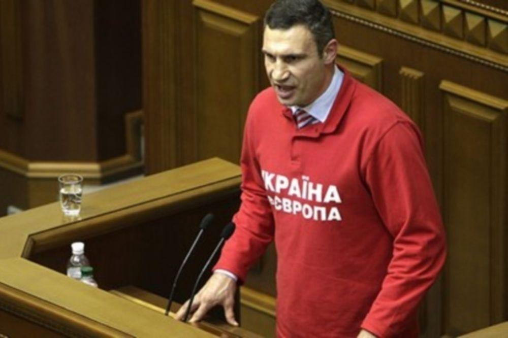 Μποξ: Υποψήφιος πρόεδρος της Ουκρανίας ο Klitschko