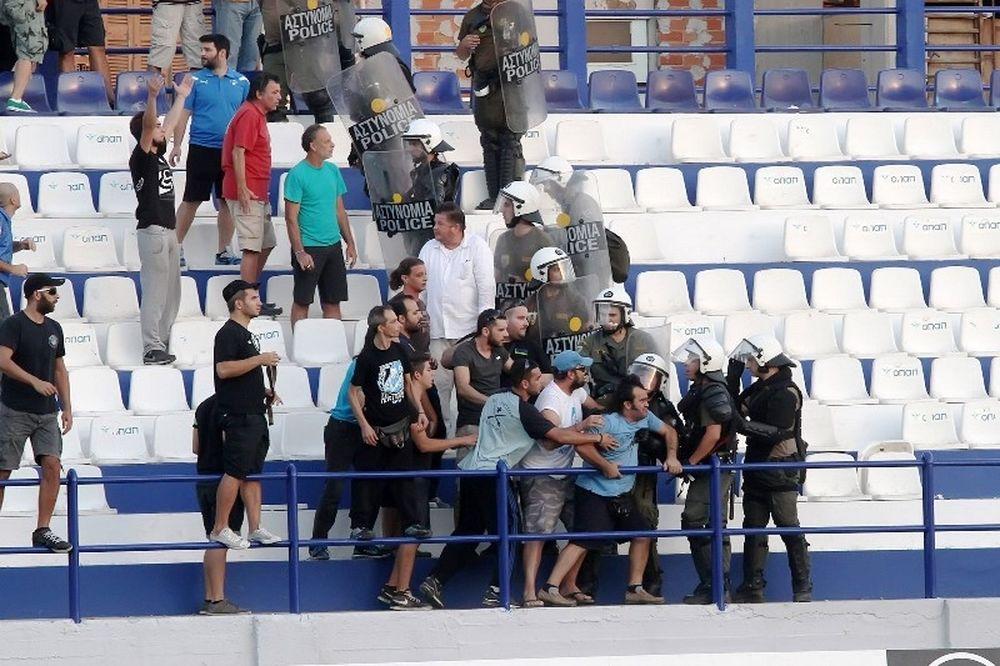 Ιωνικός-ΑΕΚ: Αθώωση από την ΕΠΟ για τα επεισόδια στη Νεάπολη