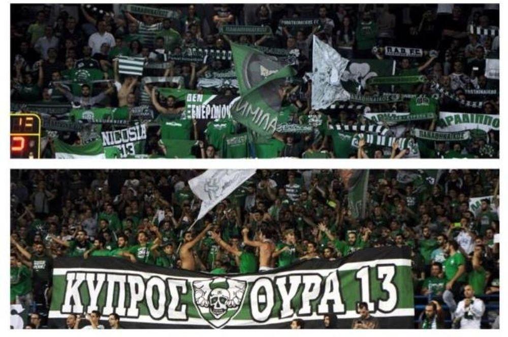 Παναθηναϊκός: «Σαν στο σπίτι μας! Ευχαριστούμε Κύπρο» (photos+video)