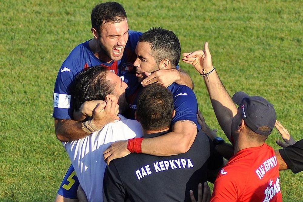 Football League: Ασταμάτητη Κέρκυρα, «γκέλα» Παναιγιάλειου