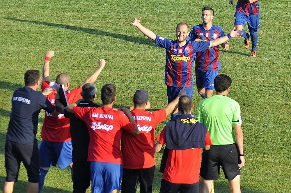 Με σπασμένα φρένα η Κέρκυρα, 2-0 τον Τύρναβο