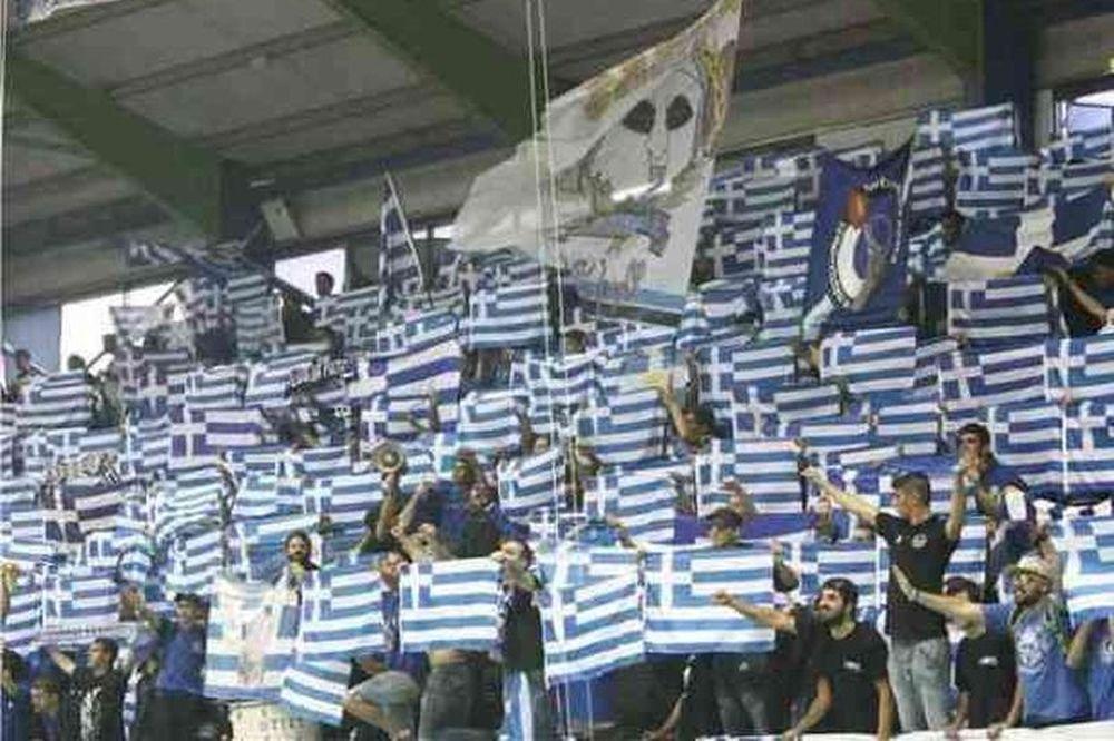Ανόρθωση: «Γαλανόλευκο» το γήπεδο κόντρα στους Τούρκους (videos+photos)