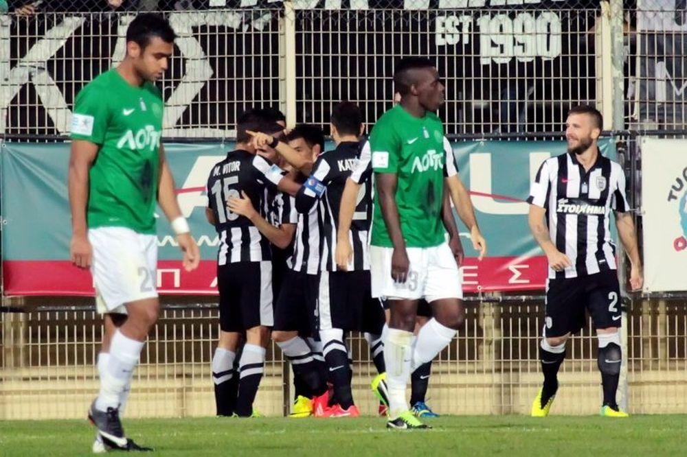 Πανθρακικός - ΠΑΟΚ 0-3: Τα γκολ του αγώνα (video)