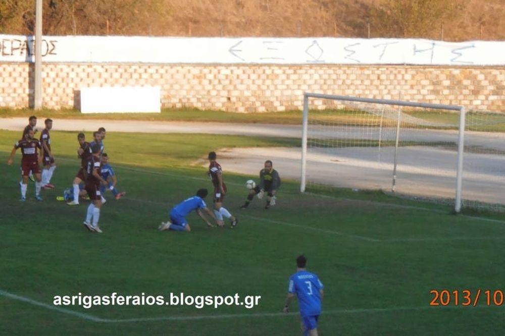 Ρήγας Φεραίος – Μαχητής Τερψιθέας 1-0