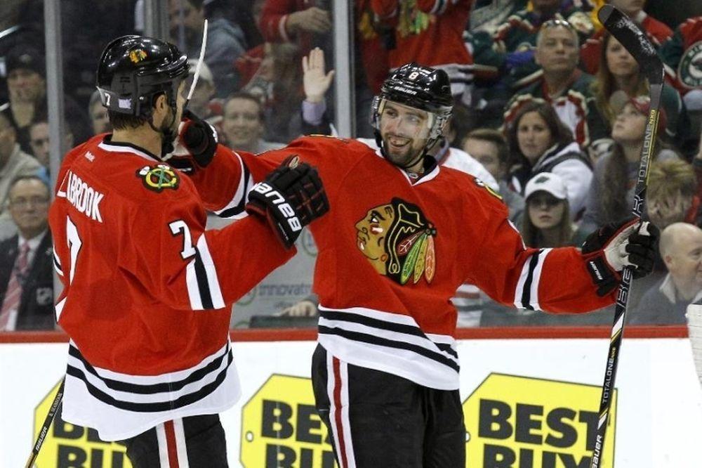 NHL: Πεντάρα για Μπλάκχοκς (videos)