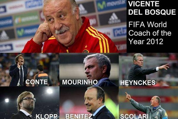 FIFA: Οι προπονητές της χρονιάς (photos+video)