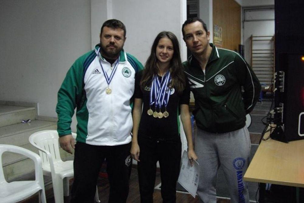 Παναθηναϊκός: Επτά «πράσινα» μετάλλια (photos)