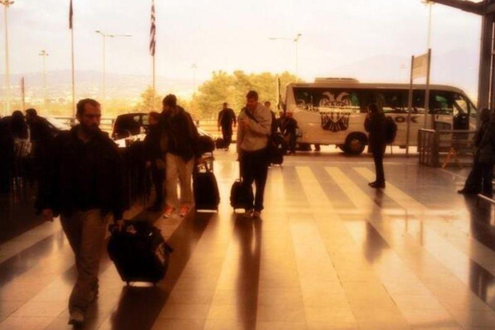 ΠΑΟΚ: Αναχώρησε για την Άγκυρα (photos)