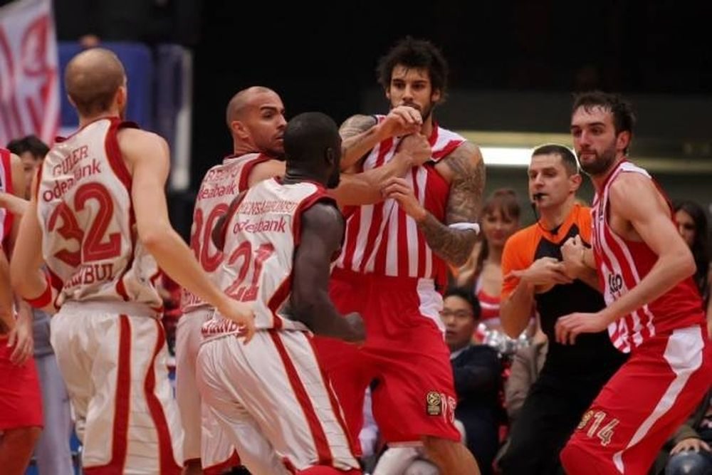 Ολυμπιακός-Γαλατά: «Καμπάνες» και επίσημα από Euroleague (Video)