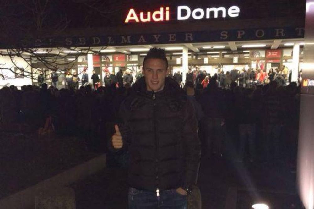 Μπάγερν - Ολυμπιακός: Στο «Audi Dome» ο Βλαχοδήμος (photo)