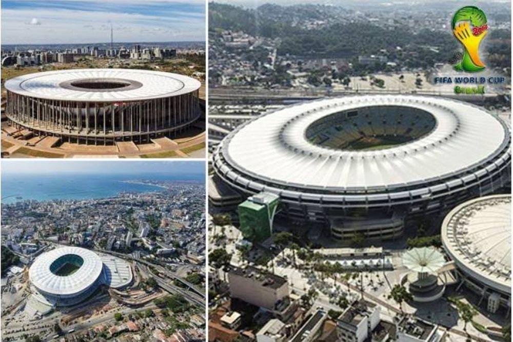 Μουντιάλ 2014: Τα γήπεδα της διοργάνωσης