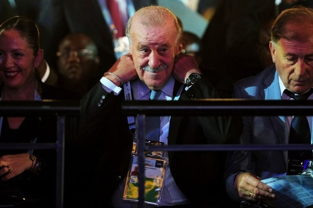 Ντελ Μπόσκε: «Πάμε για το δεύτερο Παγκόσμιο Κύπελλο!»