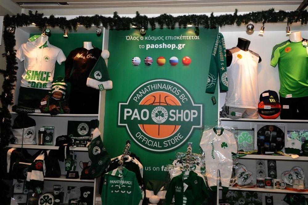 Στο PAO SHOP τα Χριστούγεννα είναι… πράσινα (photos)
