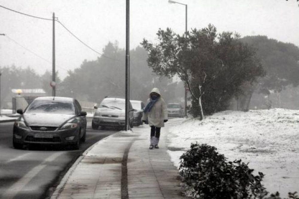 Εκτακτο δελτίο επιδείνωσης του καιρού από την ΕΜΥ - Χιόνια ως την Κρήτη