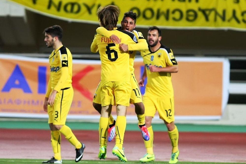 Με το ζόρι η ΑΕΚ, 2-1 τον Ηρόδοτο (photos)