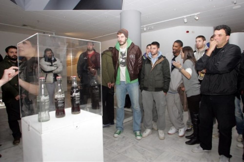 Άρης: Προπόνηση και χαλάρωμα στο μουσείο (photos)