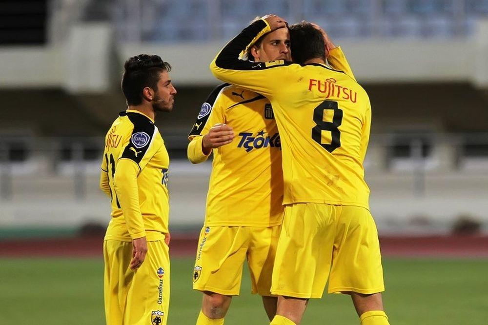 Ηρόδοτος – ΑΕΚ 1-2: Τα γκολ του αγώνα (videos)