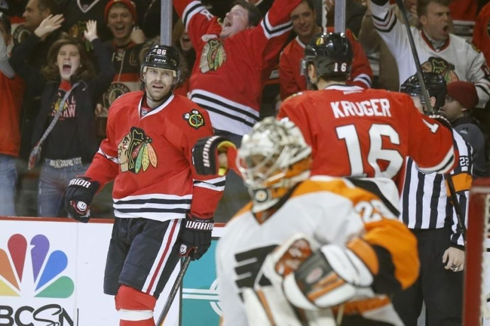 NHL: Ασταμάτητοι οι Μπλάκχοκς (videos)