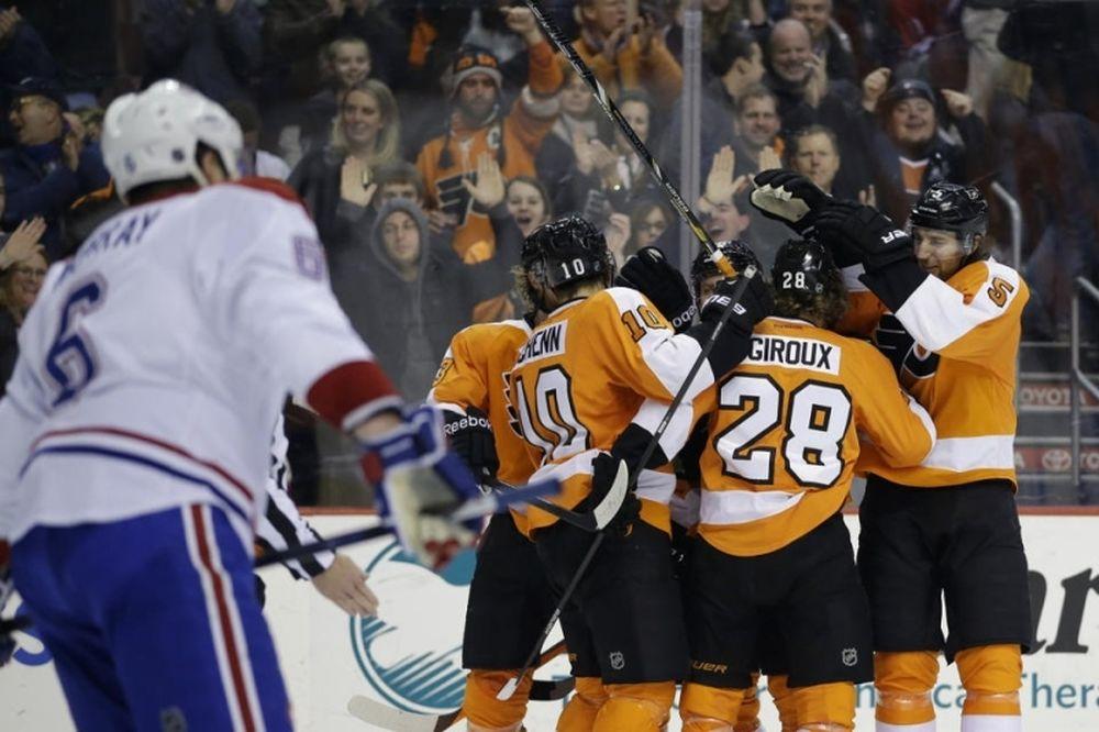 NHL: «Ζουν» οι Φλάιερς (videos)