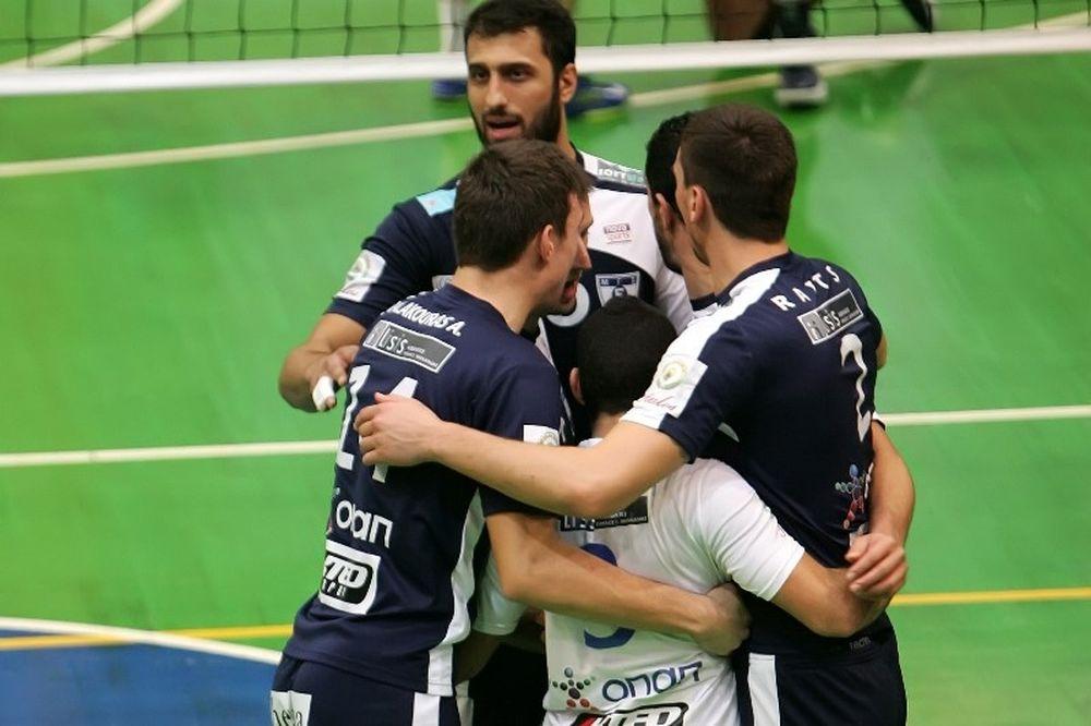 Volleyleague: Μένει… πρώτος ο Εθνικός, Νίκη… παραμονής