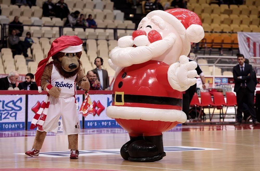 Ολυμπιακός: Θρυλέοντας εναντίον Άγιου Βασίλη! (photos+video)