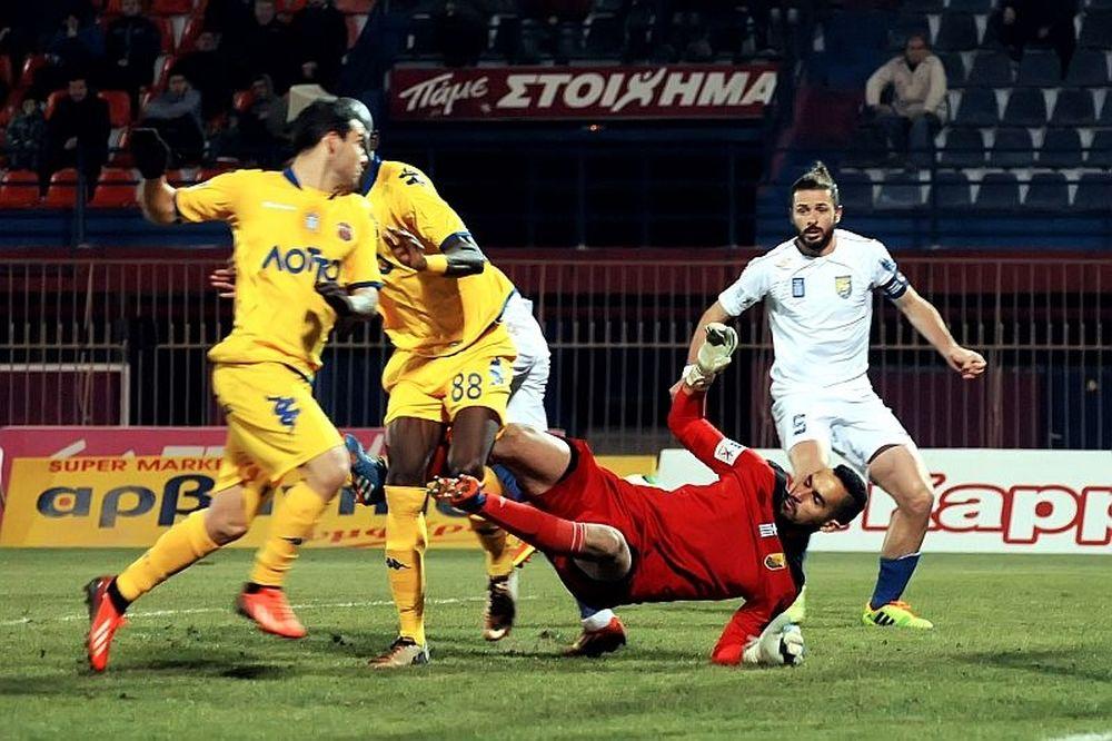 Βέροια-Παναιτωλικός 1-0: Το γκολ του αγώνα (video)