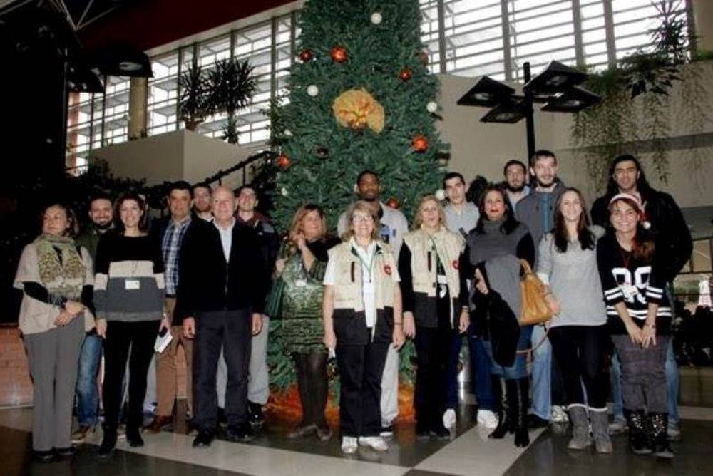 Άρης: Επίσκεψη στο νοσοκομείο Παπαγεωργίου (photos)