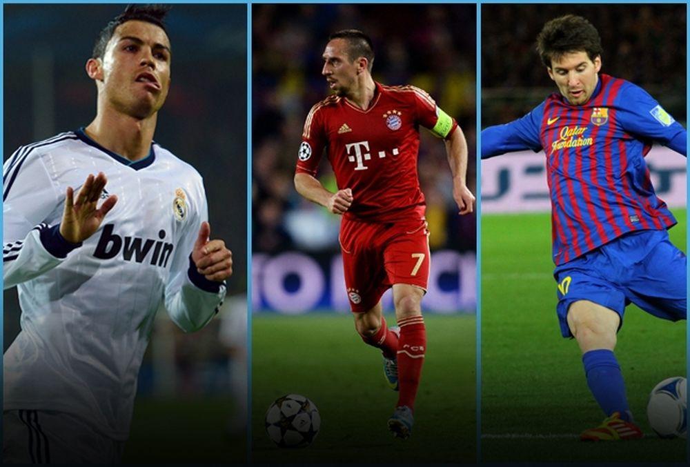 Η ποδοσφαιρική ελίτ του 2013! (photos+videos)