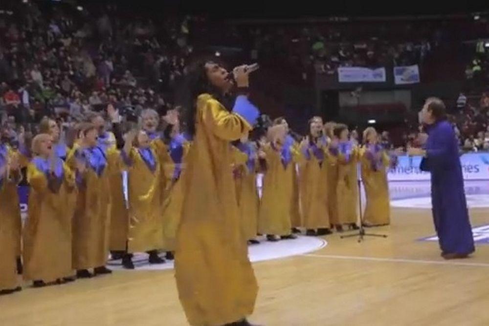 Αρμάνι Μιλάνο: Ψαλμοί στο... Final 4 (video)