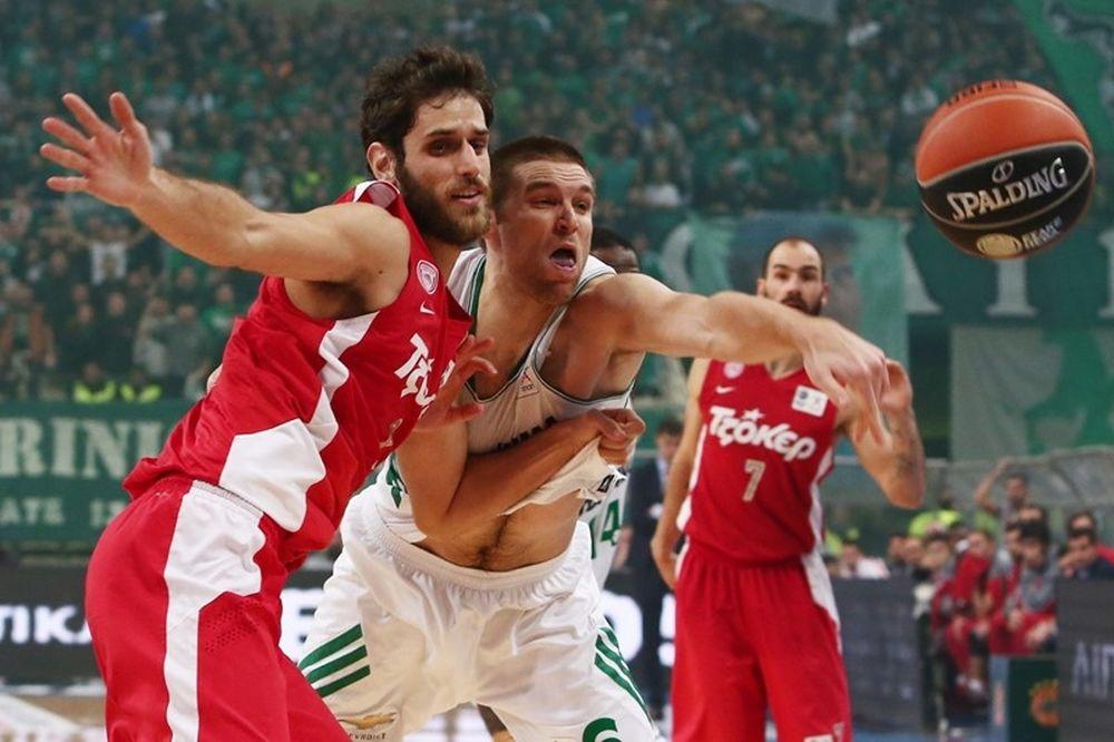 Basket League ΟΠΑΠ: Για την πρωτιά ο Παναθηναϊκός, για το αήττητο ο Ολυμπιακός