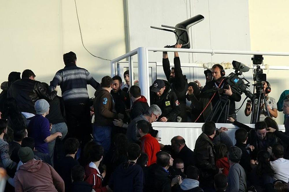 Ιπτάμενες καρέκλες στη Δράμα (photos)