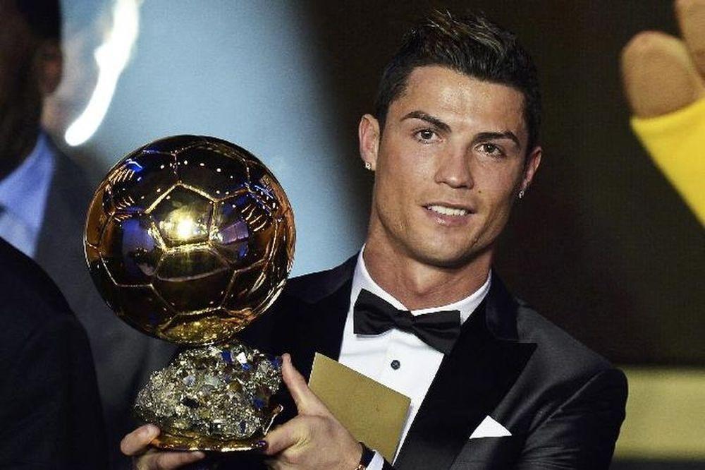 Χρυσή Μπάλα 2013 - «Βασιλιάς» Κριστιάνο Ρονάλντο (video+photos)