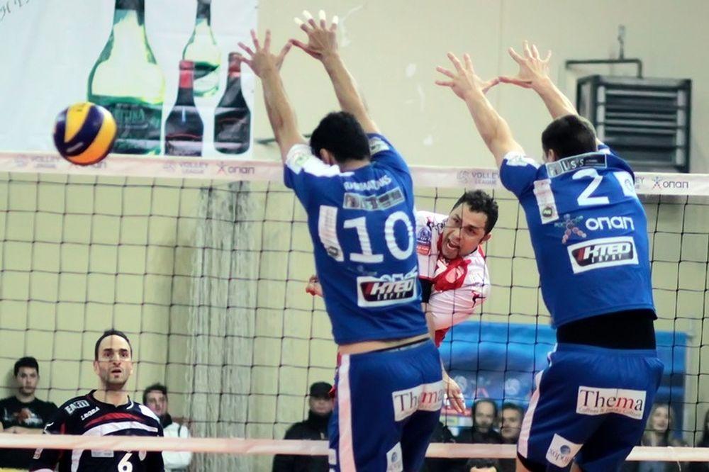 Volleyleague ΟΠΑΠ: Εθνικός και Κηφισιά, πάνω και δίπλα στον Ολυμπιακό