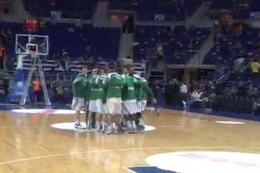 Onsports TV: Η είσοδος του Παναθηναϊκού στο «Ulker Sports Arena» (videos)