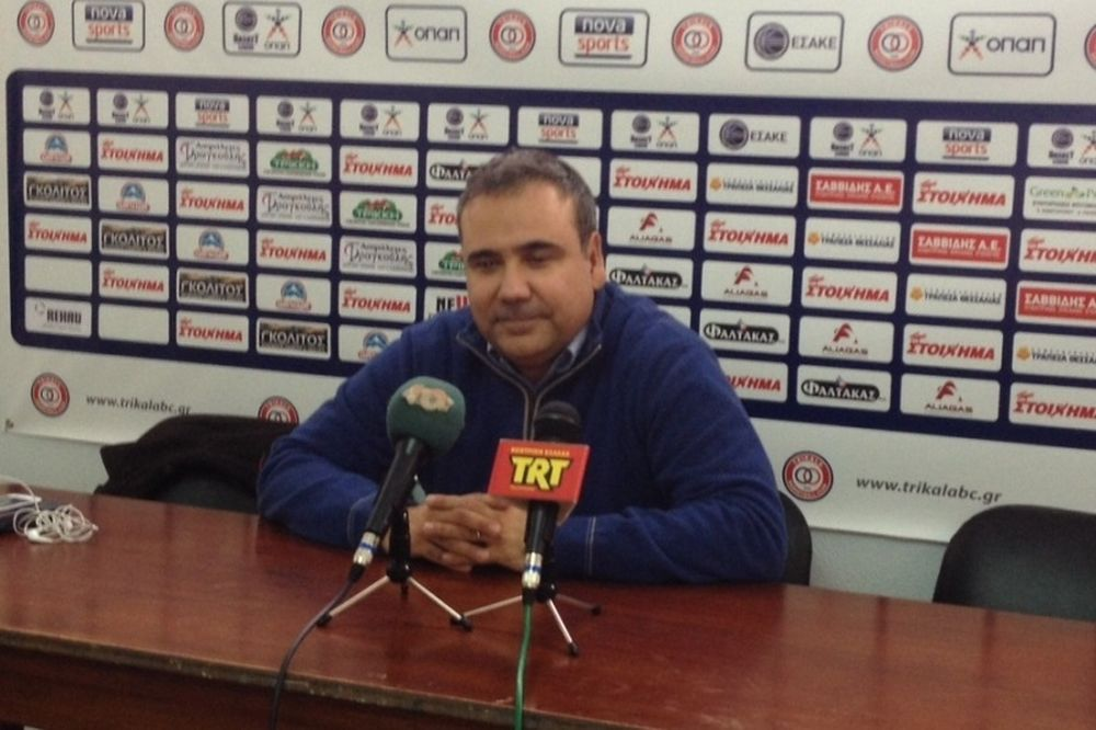 Φλεβαράκης: «Αξίζουν Α1 τα Τρίκαλα BC»