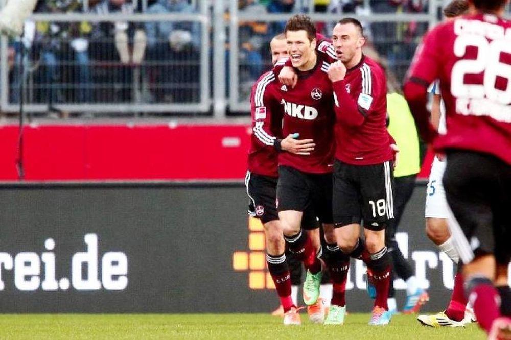 Θρίαμβος για Νυρεμβέργη, 4-0 τη Χόφενχαϊμ