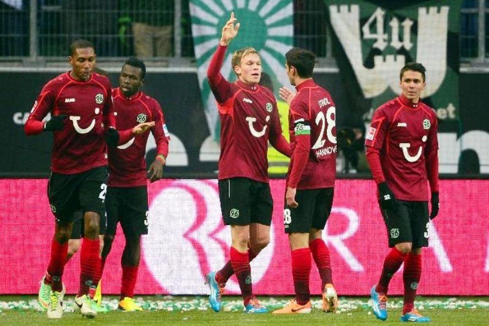 Πρώτο «διπλό» για Αννόβερο, 3-1 τη Βόλφσμπουργκ