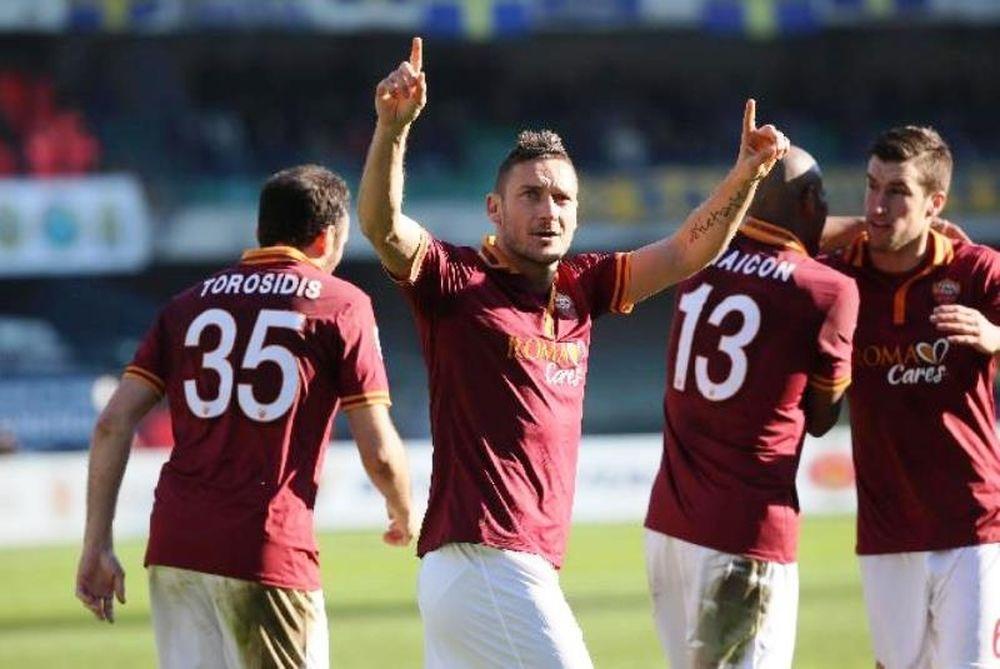 Μείωσε η  Ρόμα, 3-1 τη Βερόνα (video)