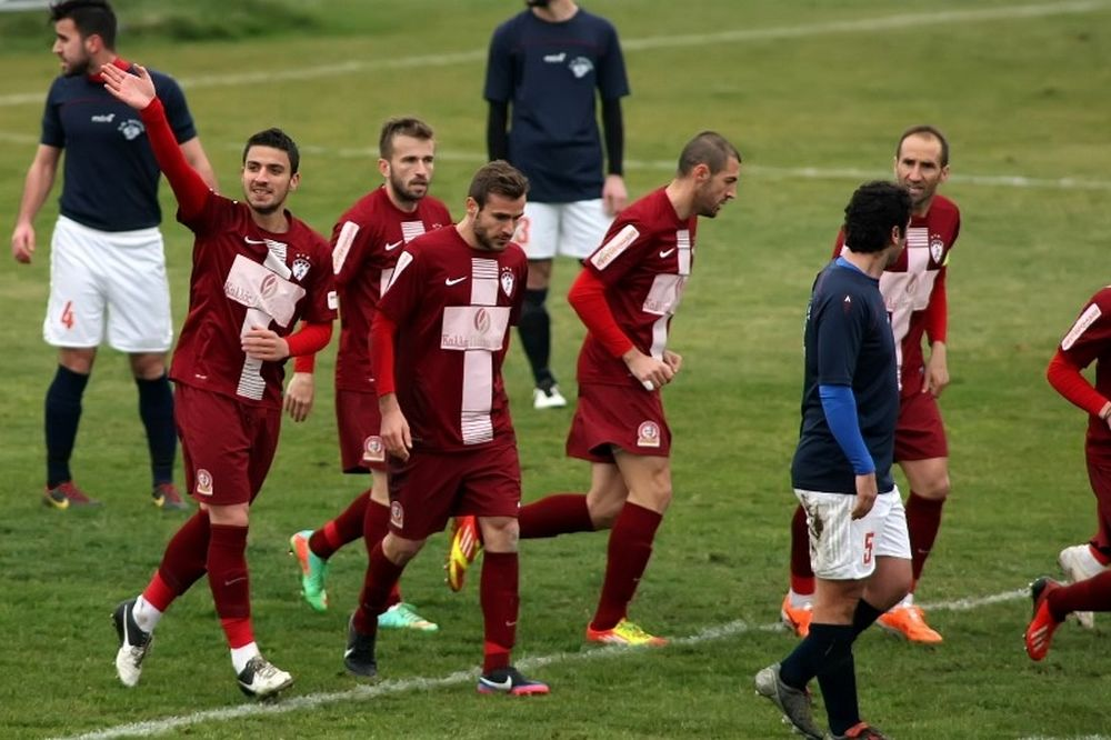 Λάρισα - Κάστορας 4-0